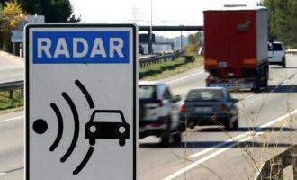 De echte snelheden waarbij de radar op de Spaanse wegen bekeurt