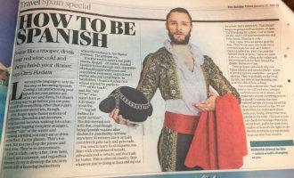Britse krant plaatst komisch bedoeld artikel wat niet helemaal goed valt in Spanje