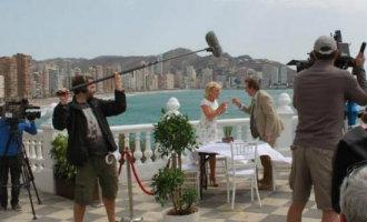 Benidorm was het scenario voor 95 filmopnames in 2017