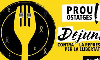Het Catalaanse ANC wil een collectieve hongerstaking vanwege zogenaamde politieke gevangenen
