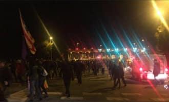 AP-7 en diverse andere wegen in Catalonië hebben problemen vanwege acties separatisten
