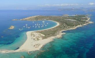 Belgische zakenman koopt het Isla de Espalmador eiland voor de kust van Formentera