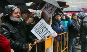 Opnieuw duizenden gepensioneerden de straten op in Spanje voor een fatsoenlijk pensioen