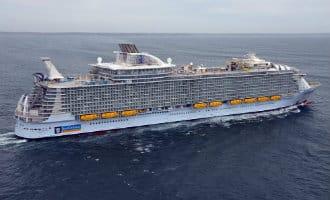 Grootste cruiseschip ter wereld bezoekt Spaanse havens