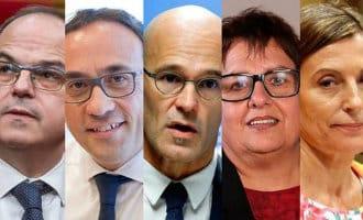 Het naar de gevangenis sturen van Catalaanse politici zorgt voor problemen in Barcelona