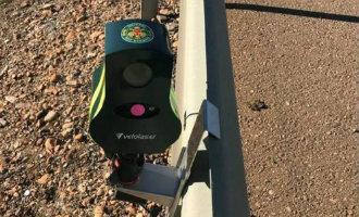 Spaanse verkeersdienst heeft nieuwe mini snelheidsradars in gebruik genomen
