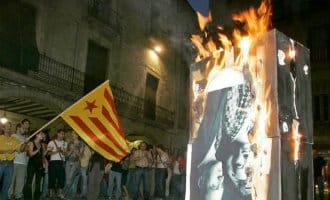 Foto's van de Spaanse Koning verbranden mag volgens het Europees Hof voor de Rechten van de Mens