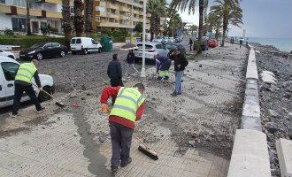 Vier vermisten, drie gewonden en schade na hevige regenval in Andalusië