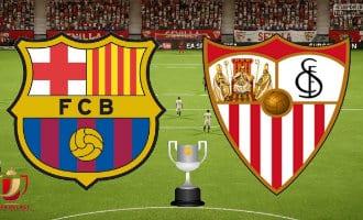 Politiek geladen Copa del Rey bekerfinale in Spanje tussen Sevilla en FC Barcelona