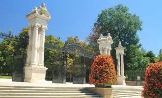 Het Retiro park in Madrid weer open na dood van vierjarige jongen