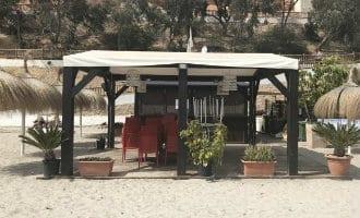 Geen strandbars, zonnebedden en parasols op de stranden van Orihuela Costa deze zomer