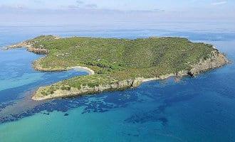 Mogelijk nieuwe Amerikaanse eigenaar voor het eilandje Isla d'en Colom bij Menorca