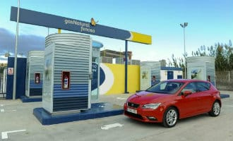 Er worden in Spanje steeds meer auto's die op aardgas rijden verkocht