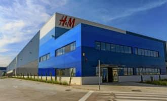 Staking aangekondigd in het enige logistieke centrum van H&M van Spanje