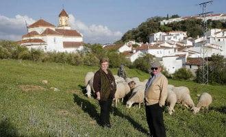 Het achterland van de provincie Málaga sterft uit