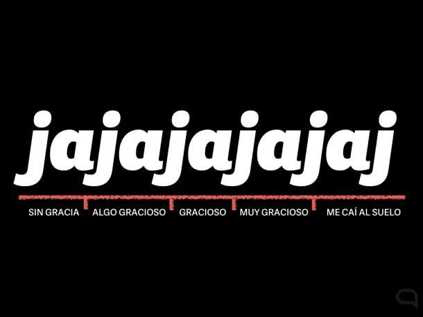 Waarom Spanjaarden jajaja gebruiken in plaats van hahaha
