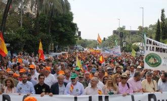 Spaanse jagers gaan zondag demonstreren tegen de milieu- en dierenactivisten