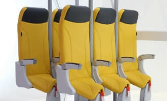 Worden deze sta-stoelen de toekomst bij low cost vliegmaatschappijen?