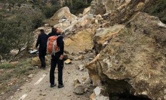 Echtpaar overleden nadat hun auto onder een lawine van stenen terecht kwam in Lleida