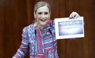 Steeds meer leugens en onwaarheden over de Master van de Madrileense regiopresidente Cifuentes