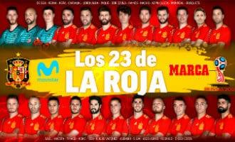 Spaanse bondscoach maakt definitieve spelerslijst voor het WK 2018 in Rusland bekend