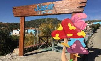 Het oude smurfendorp Júzcar is nu het actiefste dorp geworden van Málaga
