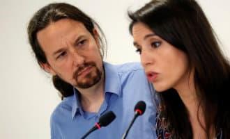 Merendeel van stemmen Podemos leden stemt voor continuatie van partijleider en vriendin