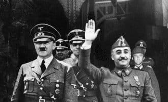 Spanje's en Franco's rol tijdens de Tweede Wereldoorlog