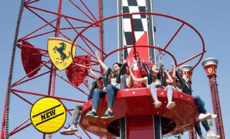 Nieuwe attracties Ferrari Land in Salou