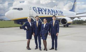 Stakingsdreiging cabinepersoneel Ryanair