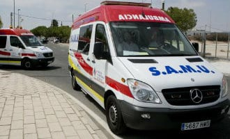 Ambulance verliest Britse patient in Benidorm