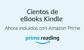 Amazon Prime klanten in Spanje kunnen nu ook gratis boeken lezen