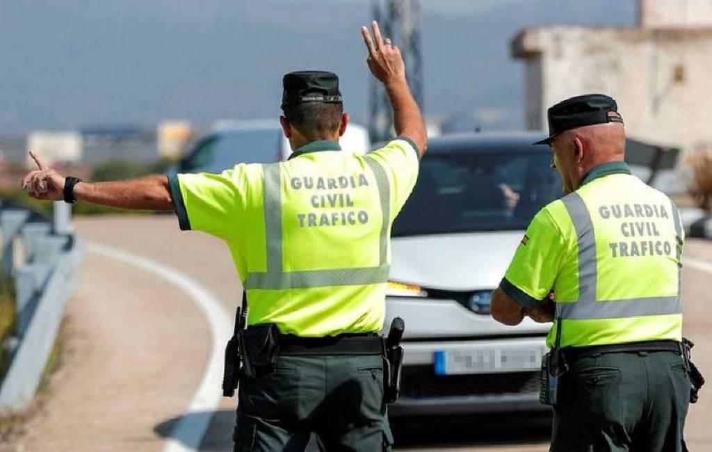De politie in Spanje mag je auto stilzetten of in beslag nemen als…