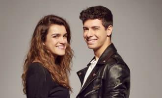 """Verliefd duo met """"tu canción"""" naar Lissabon"""