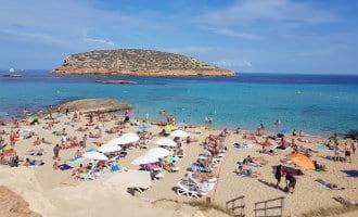 Groot deel van de toeristen op Ibiza verblijft in een huuraccommodatie