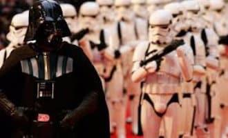 Overname Málaga door Star Wars soldaten