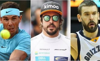 Best verdienende Spaanse sporters zijn Nadal, Alonso en Gasol