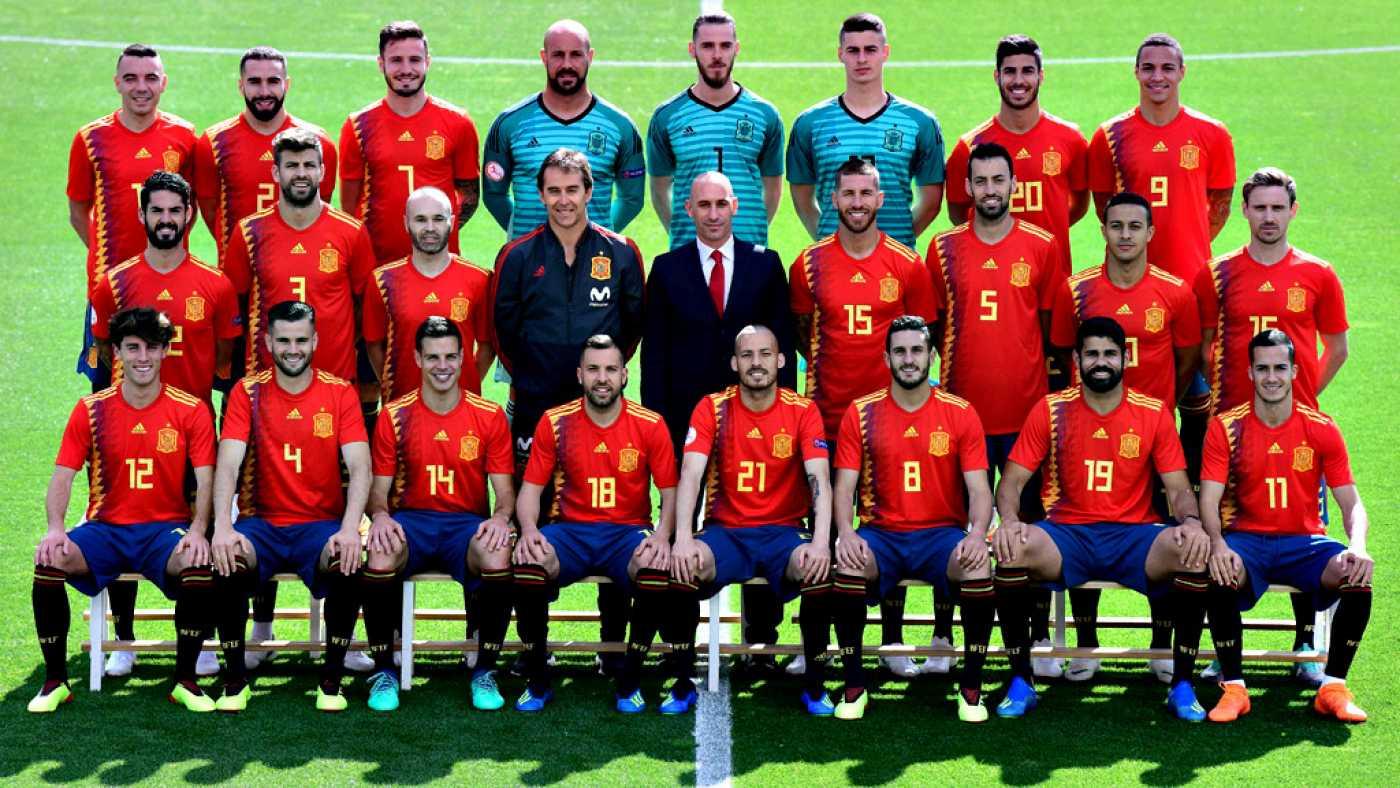 WK-2018: Dit is het Spaanse nationale elftal