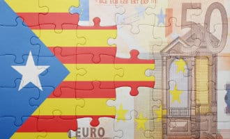 Minder EU investeerders in Catalonië