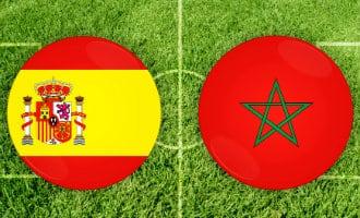 WK-2018: Spanje in derde groepsfase wedstrijd tegen Marokko