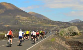 Meer sportende toeristen op Lanzarote in 2017