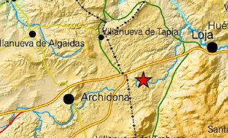 Aardbeving van 4,1 op de Richter schaal nabij Granada en Málaga
