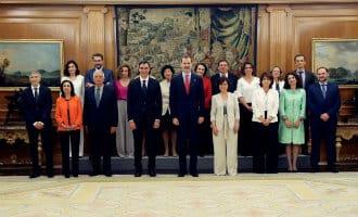 Meer vrouwen dan mannen in nieuwe regering-Sánchez in Spanje