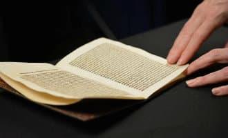 Gestolen brief van Columbus keert terug naar Spanje