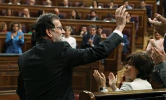 Einde van regering-Rajoy na aanname motie van wantrouwen