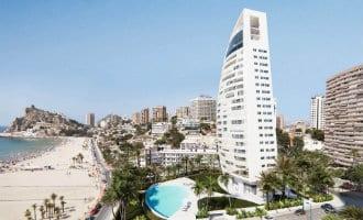 Verboden aan toeristen te verhuren in toekomstige Delfín Tower in Benidorm