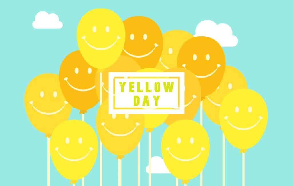 """Spanje viert """"yellow day"""" de gelukkigste dag van het jaar"""
