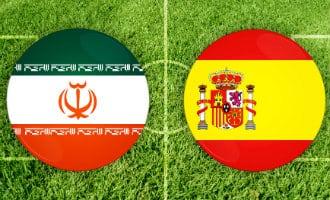 WK-2018: Spanje tegen Iran
