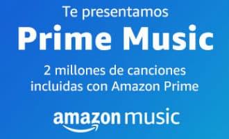 Gratis muziek Amazon Prime leden in Spanje