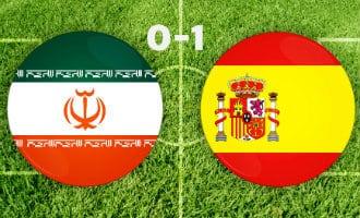 WK-2018: Eerste overwinning Spanje op Iran